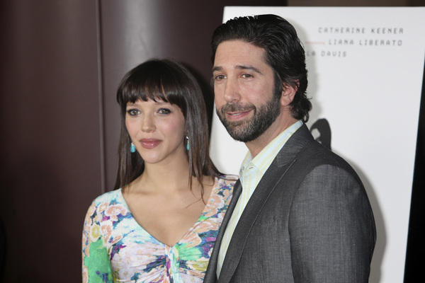 """Trust"" PremiereZoe Buckman, David Schwimmer 3-21-2011 / Millennium Entertainment / DGA Theater / Hollywood CA / Photo by Imeh Akpanudosen - Image 24042_0145"