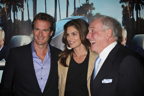 """""""His Way"""" Premiere Rande Gerber, Cindy Crawford, Jerry Weintraub  3-22-2011 / HBO / Paramount Theater / Hollywood CA / Photo by Imeh Akpanudosen - Image 24043_0207"""