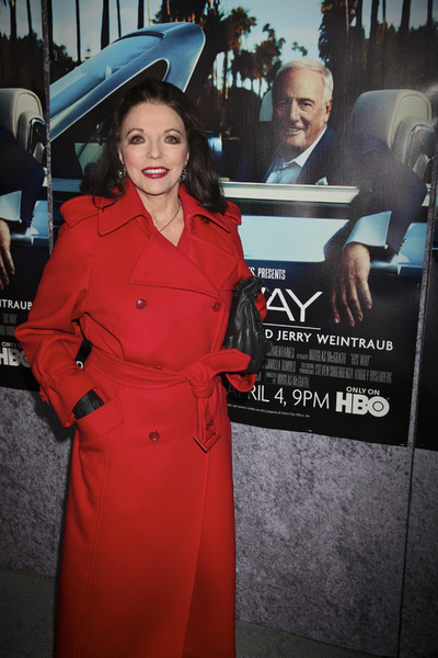 """His Way"" Premiere Joan Collins 3-22-2011 / HBO / Paramount Theater / Hollywood CA / Photo by Imeh Akpanudosen - Image 24043_0234"