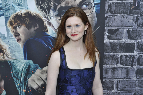 """""""Harry Potter: The Exhibition""""Bonnie Wright4-4-2011 / Discovery Times Square / New York NY / Warner Brothers / Photo by Eric Reichbaum - Image 24044_0053"""