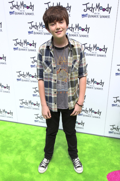 """Judy Moody and the Not Bummer Summer"" Premiere Greyson Chance6-4-2011 / ArcLight / Hollywood CA / Relativity Media / Photo by Imeh Akpanudosen - Image 24068_0148"