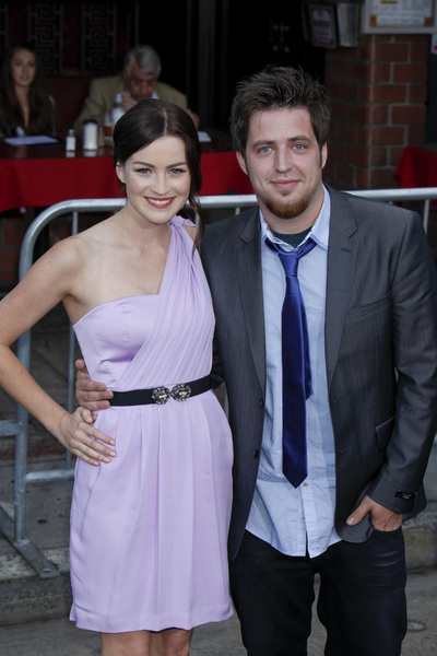 """""""Super 8"""" Premiere Jonna Walsh, Lee DeWyze6-8-2011 / Regency Village Theater / Los Angeles CA / Paramount Pictures / Photo by Imeh Akpanudosen - Image 24072_0254"""