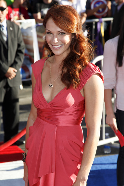 """""""Captain America: The First Avenger"""" Premiere  Amanda Righetti7-19-2011 / El Capitan Theater / Hollywood CA / Paramount Pictures / Photo by Imeh Akpanudosen - Image 24083_0063"""