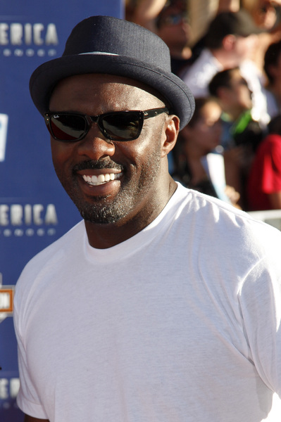 """Captain America: The First Avenger"" Premiere  Isan Elba, Idris Elba7-19-2011 / El Capitan Theater / Hollywood CA / Paramount Pictures / Photo by Imeh Akpanudosen - Image 24083_0148"