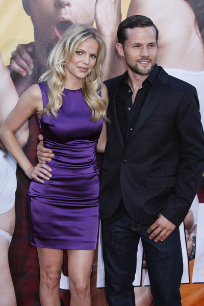 """The Change-Up"" Premiere Mircea Monroe, George Berry8-1-2011 / Village Theater / Westwood CA / Universal Pictures / Photo by Imeh Akpanudosen - Image 24087_0035"