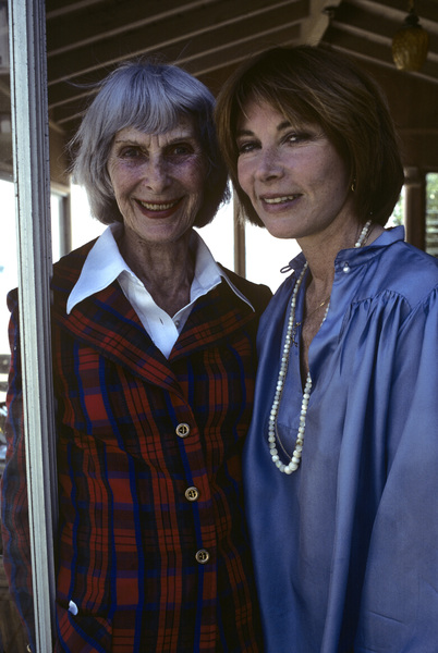 Lee Grant at her Malibu home with her mother 1978 © 1978 Ulvis Alberts - Image 2410_0008