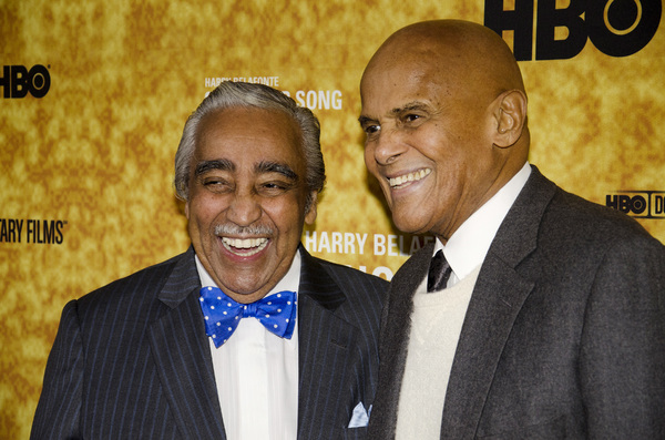 """Sing Your Song"" Premiere Charles Rangel, Harry Belafonte10-6-2011 / Apollo Theater / New York NY / HBO / Photo by Eric Reichbaum - Image 24117_0089"