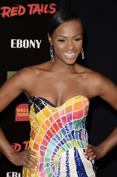 """Red Tails"" Premiere Tika Sumpter 1-10-2012 / Ziegfeld Theater / New York NY / Twentieth Century Fox / Photo by Eric Reichbaum - Image 24144_0104"