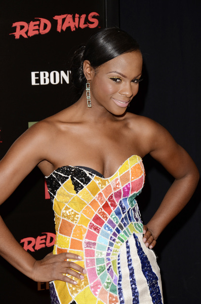 """Red Tails"" Premiere Tika Sumpter 1-10-2012 / Ziegfeld Theater / New York NY / Twentieth Century Fox / Photo by Eric Reichbaum - Image 24144_0106"