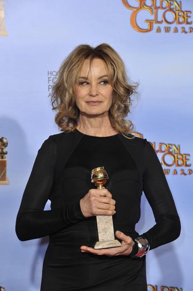 """The Golden Globe Awards - 69th Annual"" (Press Room) Jessica Lange1-15-2012 © 2012 Jean Cummings - Image 24150_0064"