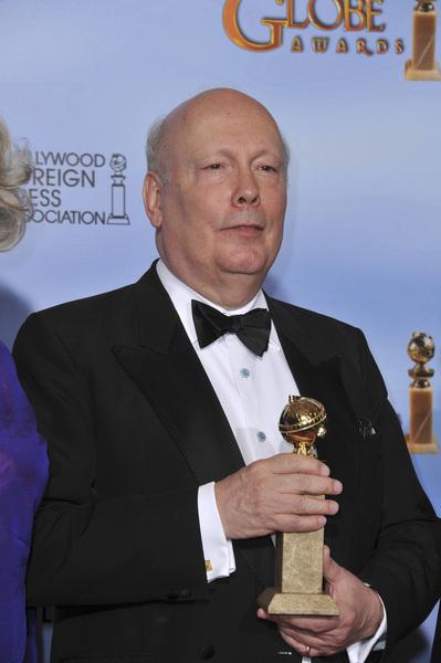 """The Golden Globe Awards - 69th Annual"" (Press Room) Julian Fellowes1-15-2012 © 2012 Jean Cummings - Image 24150_0067"