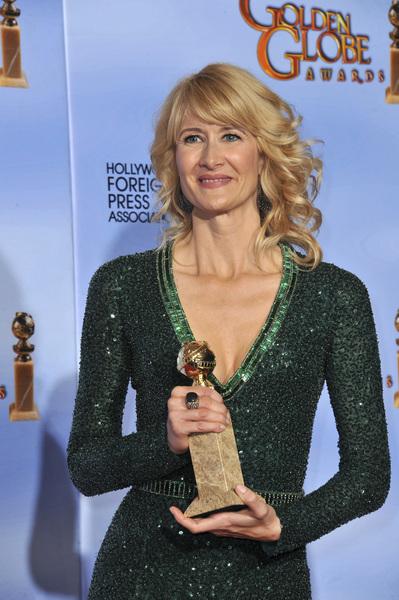 """The Golden Globe Awards - 69th Annual"" (Press Room) Laura Dern1-15-2012 © 2012 Jean Cummings - Image 24150_0083"