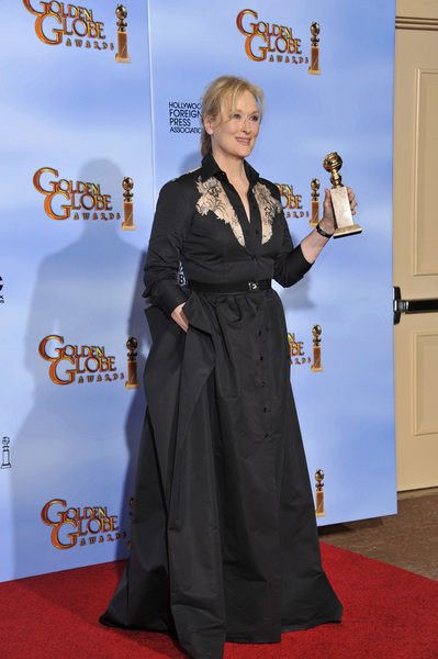 """The Golden Globe Awards - 69th Annual"" (Press Room) Meryl Streep1-15-2012 © 2012 Jean Cummings - Image 24150_0105"