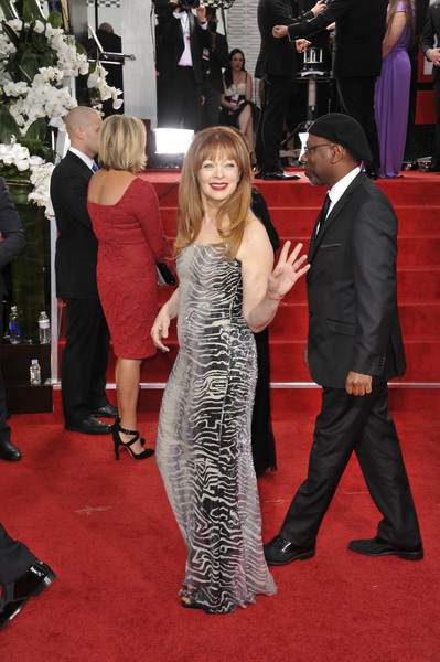 """""""The Golden Globe Awards - 69th Annual"""" (Arrivals) Frances Fisher1-15-2012 © 2012 Jean Cummings - Image 24150_0232"""