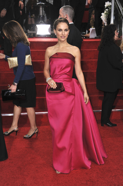 """The Golden Globe Awards - 69th Annual"" (Arrivals) Natalie Portman1-15-2012 © 2012 Jean Cummings - Image 24150_0351"