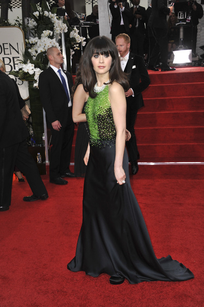 """The Golden Globe Awards - 69th Annual"" (Arrivals) Zooey Deschanel1-15-2012 © 2012 Jean Cummings - Image 24150_0441"