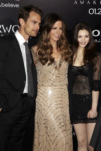 """Underworld Awakening"" Kate Beckinsale, Theo James, India Eisley1-19-2012 / Grauman"