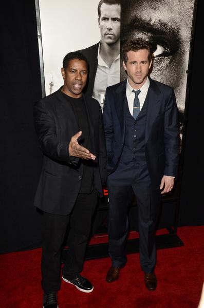 """Safe House"" PremiereDenzel Washington, Ryan Reynolds2-7-2012 / SVA Theater / Universal Pictures / New York NY / Photo by Eric Reichbaum - Image 24172_0327"