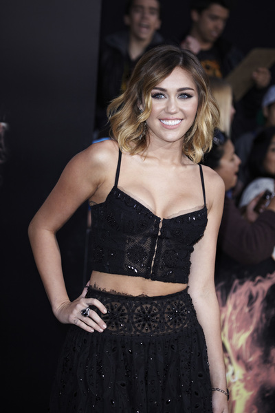 """""""The Hunger Games"""" PremiereMiley Cyrus3-12-2012 / Nokia Theater LA Live / Lionsgate / Los Angeles CA / Photo by Benny Haddad - Image 24191_0136"""