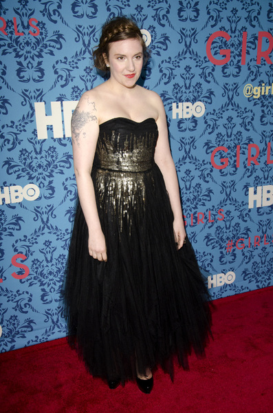 """Girls"" PremiereLena Dunham4-4-2012 / School of Visual Arts / HBO / New York NY / Photo by Eric Reichbaum - Image 24204_0029"
