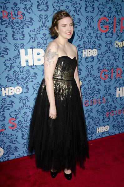 """Girls"" PremiereLena Dunham4-4-2012 / School of Visual Arts / HBO / New York NY / Photo by Eric Reichbaum - Image 24204_0032"