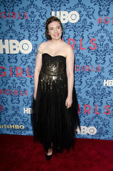 """Girls"" PremiereLena Dunham4-4-2012 / School of Visual Arts / HBO / New York NY / Photo by Eric Reichbaum - Image 24204_0045"