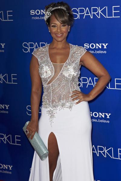 """Sparkle"" Premiere LisaRaye McCoy8-16-2012 / Grauman"