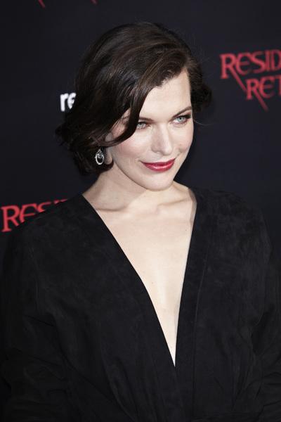 """Resident Evil: Retribution"" Premiere Milla Jovovich9-12-2012 / Regal Cinemas L.A. Live / Screen Gems / Los Angeles CA / Photo by Benny Haddad - Image 24252_0091"