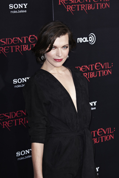 """Resident Evil: Retribution"" Premiere Milla Jovovich9-12-2012 / Regal Cinemas L.A. Live / Screen Gems / Los Angeles CA / Photo by Benny Haddad - Image 24252_0094"