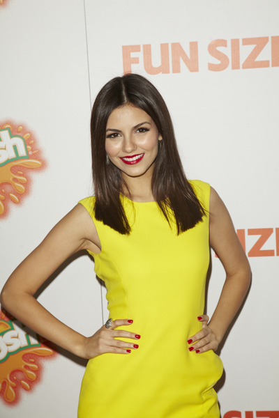 """""""Fun Size"""" PremiereVictoria Justice10-25-2012 / Paramount Theater / Hollywood CA / Paramount Pictures / Photo by Kevin Kozicki - Image 24257_0111"""
