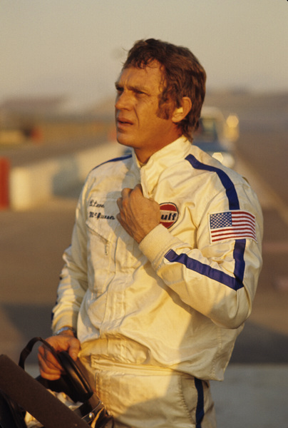 Steve McQueen at the Ontario Motor Speedway1972© 1978 Paul Slaughter - Image 24262_0025