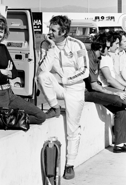 Steve McQueen at the Ontario Motor Speedway1971© 1978 Paul Slaughter - Image 24262_0303