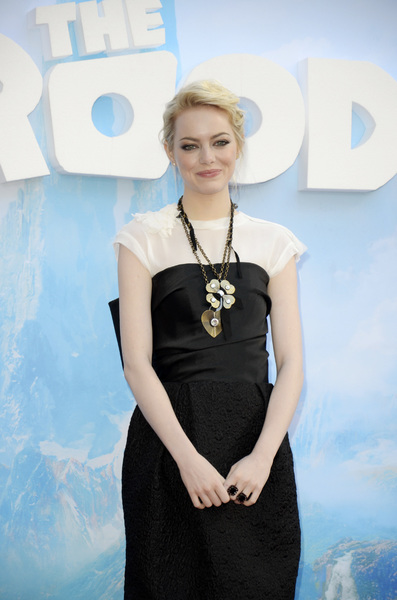 """""""The Croods"""" Premiere Emma Stone 3-10-2013 / AMC Loews Lincoln Square Theater / New York NY / Dreamworks / Photo by Eric Reichbaum - Image 24266_140"""
