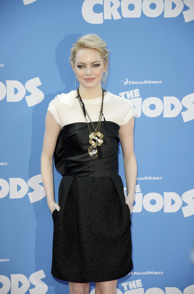 """""""The Croods"""" Premiere Emma Stone 3-10-2013 / AMC Loews Lincoln Square Theater / New York NY / Dreamworks / Photo by Eric Reichbaum - Image 24266_158"""