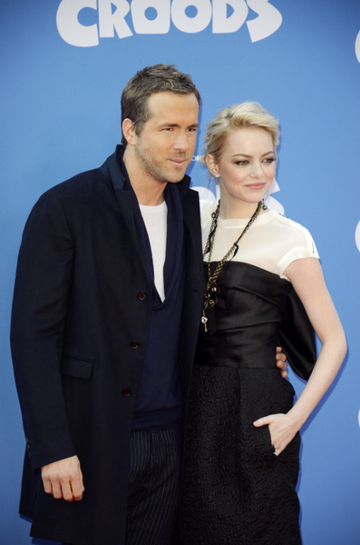 """""""The Croods"""" Premiere Ryan Reynolds, Emma Stone 3-10-2013 / AMC Loews Lincoln Square Theater / New York NY / Dreamworks / Photo by Eric Reichbaum - Image 24266_195"""
