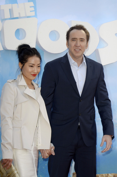 """""""The Croods"""" Premiere Alice Kim, Nicolas Cage 3-10-2013 / AMC Loews Lincoln Square Theater / New York NY / Dreamworks / Photo by Eric Reichbaum - Image 24266_26"""