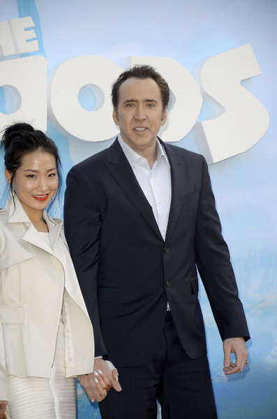 """""""The Croods"""" Premiere Alice Kim, Nicolas Cage 3-10-2013 / AMC Loews Lincoln Square Theater / New York NY / Dreamworks / Photo by Eric Reichbaum - Image 24266_30"""