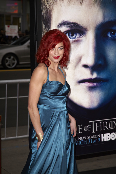 """Games of Thrones"" PremiereNatalia Tena 3-18-2013 / TCL Chinese Theater / Hollywood CA / HBO / Photo by Kevin Kozicki - Image 24267_0055"