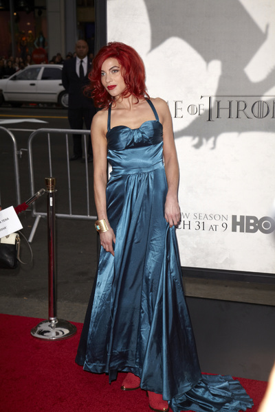 """""""Games of Thrones"""" PremiereNatalia Tena 3-18-2013 / TCL Chinese Theater / Hollywood CA / HBO / Photo by Kevin Kozicki - Image 24267_0057"""