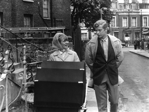 """Michael Caine and Millicent Martin in """"Alfie""""1966 Paramount** I.V. - Image 24287_0005"""