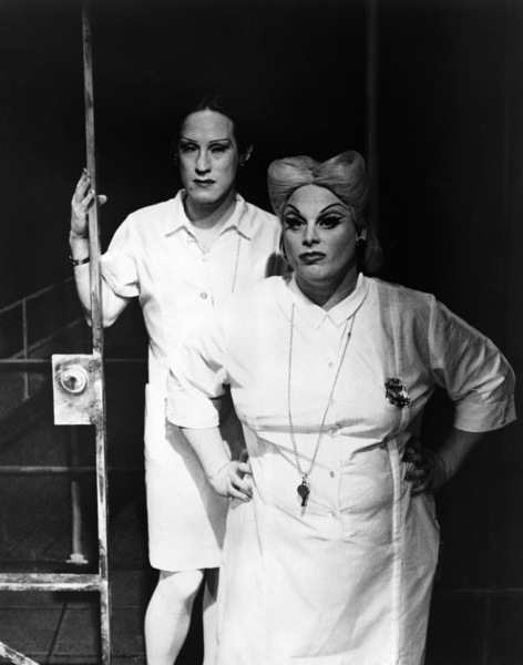 "Divine in a stage production of ""Women Behind Bars"" circa late 1970s ** I.V. - Image 24287_0140"