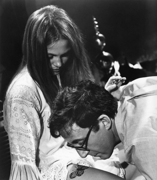 """Leigh Taylor-Young and Peter Sellers in """"I Love You, Alice B. Toklas!"""" 1968 Warner Brothers ** I.V. - Image 24287_0202"""