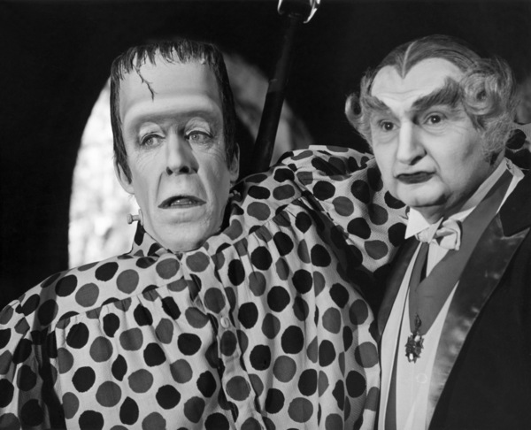 "Fred Gwynne and Al Lewis in ""Munster, Go Home!""1966 Universal** B.D.M. - Image 24293_0294"