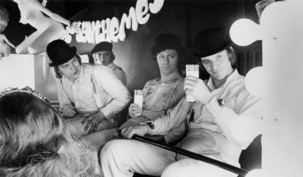 """A Clockwork Orange""Michael Tarn, Warren Clarke, James Marcus, Malcolm McDowell1971 Warner Bros.** B.D.M. - Image 24293_0331"