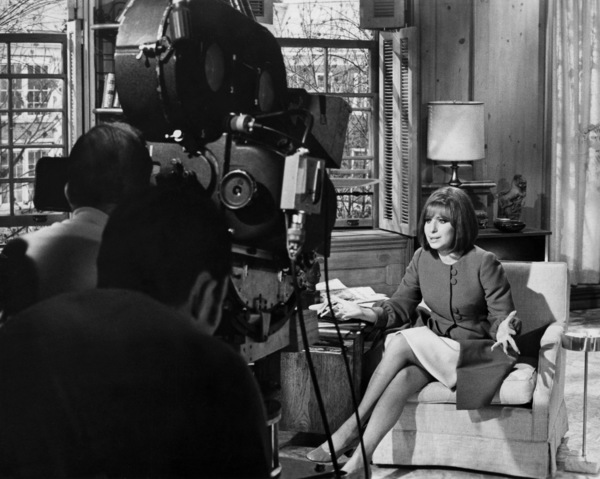 """Vincente Minnelli and Barbra Streisand on the set of """"On a Clear Day You Can See Forever""""1970 Paramount** B.D.M. - Image 24293_0397"""