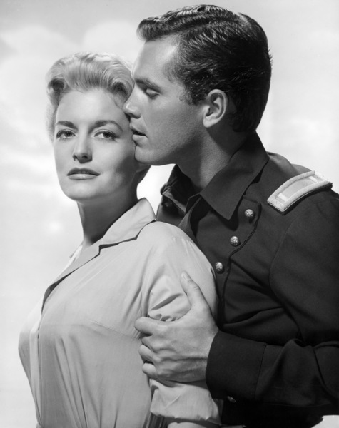 "Constance Towers and Jeffrey Hunter in ""Sergeant Rutledge""1960 Warner Bros.** B.D.M. - Image 24293_0554"