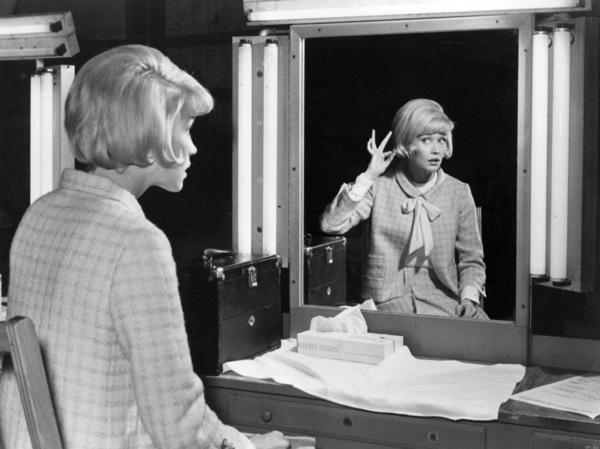 "Dorothy Provine on the set of ""That Darn Cat""1965 Buena Vista / Disney** B.D.M. - Image 24293_0565"