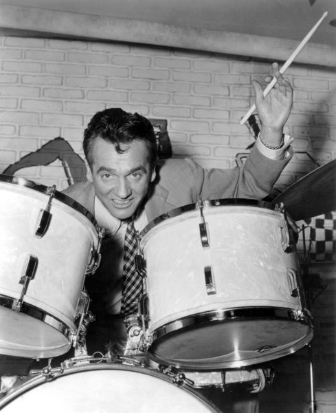"""Gene Krupa in """"The Glenn Miller Story""""1954 Universal** B.D.M. - Image 24293_0615"""