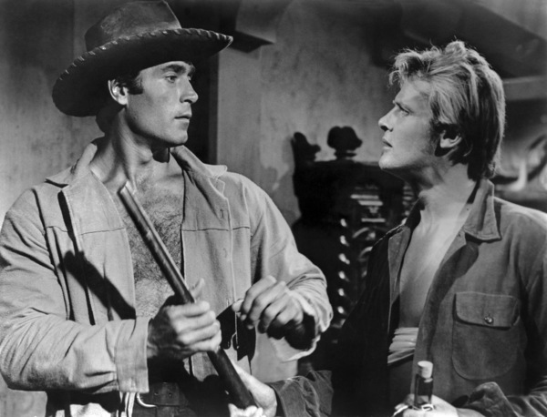 """Gold of the Seven Saints""Clint Walker, Roger Moore 1961 Warner Bros.** B.D.M. - Image 24293_0710"