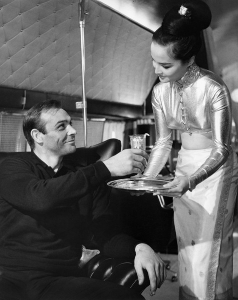 "Sean Connery and Mai Ling in ""Goldfinger""1964 United Artists** B.D.M. - Image 24293_0711"